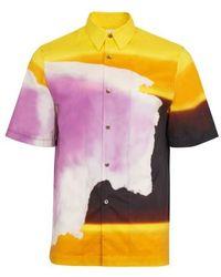 Dries Van Noten Clasen Shirt - Yellow