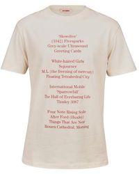 Raf Simons History Of The World T-shirt - White