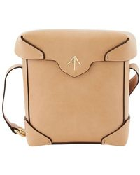 MANU Atelier Mini Pristine Cross Body Bag - Natural