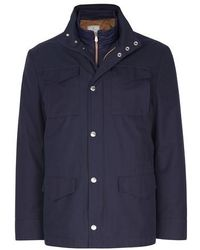 Brunello Cucinelli 3-in-1 Field Jacket - Blue
