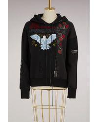 Alexander McQueen - Embroidered Hoodie - Lyst