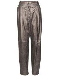 Brunello Cucinelli Suede Pants - Multicolor