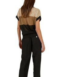 Momoní Castana Pants In Viscose Linen - Black