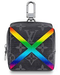 Louis Vuitton Box Pouch Bag Charm - Multicolor