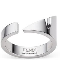 Fendi Ring - Metallic