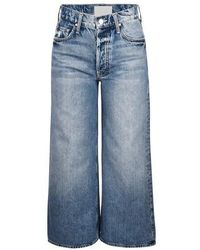 Mother The Tomcat Roller Shortly Jeans - Blue