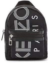 KENZO Paris Mini Backpack - Black