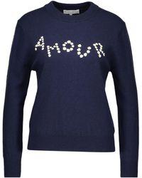 Maison Labiche Amour Sweater - Blue