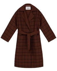 Nanushka Alamo Coat - Brown