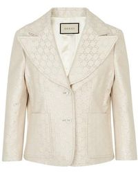 Gucci GG Jacket - Natural