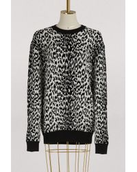 Givenchy - Leopard Oversized Pullover - Lyst