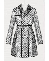 Louis Vuitton - Transparent 3d Monogram Raincoat - Lyst