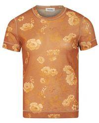 Nanushka Guy T-shirt - Orange