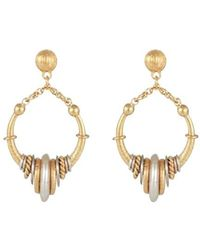 Gas Bijoux Maranzana Mini Earrings - Metallic