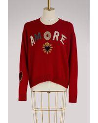 Dolce & Gabbana - Amore Cashmere Sweater - Lyst