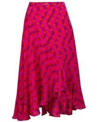 KENZO Polka Dot Skirt - Pink