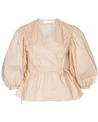 See By Chloé Wickelbluse - Natur