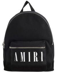 Amiri Logo Backpack - Black