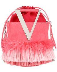 Roger Vivier Tiki Viv Rv Mini Bucket Bag - Pink
