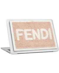 Fendi Laptop Cover - Black