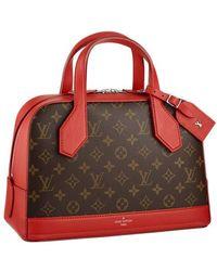 Louis Vuitton Dora Monogram Pm - Rot