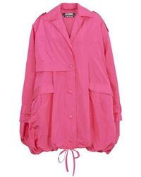 Jacquemus The Ouro Parka - Pink