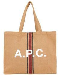 A.P.C. Sac cabas Diane - Multicolore