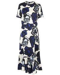 Marni Short-sleeved Dress - Blue