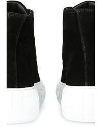 Versace High Top Sneakers - Black