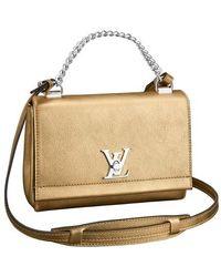 Louis Vuitton Lockme Ii Bb - Metallic