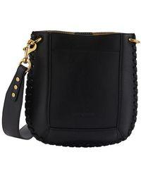 Isabel Marant Nasko New Cross Body Bag - Black