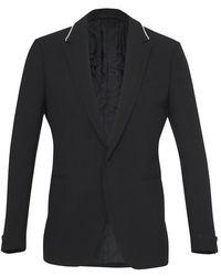 Versace Wool Blazer - Black