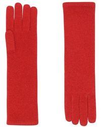 Agnelle Gloves Cachemire - Red