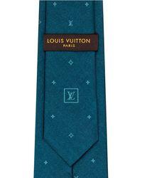Louis Vuitton Constellation Denim Tie - Blue