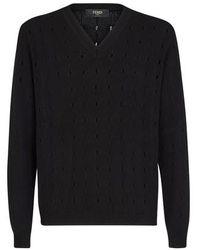 Fendi Cashmere Sweater - Black