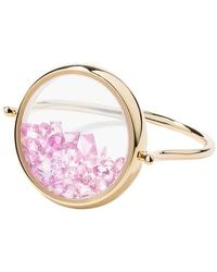 Aurelie Bidermann Bague Chivor Saphirs - Rose