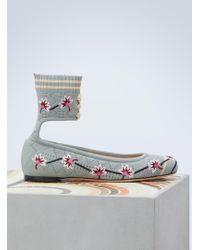 Fendi Rockoko Ballet Flats - Multicolor