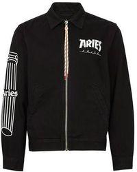 Aries Column Jacket - Black