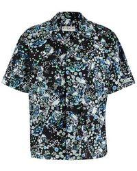 Givenchy Chemise Hawaï - Bleu