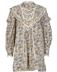 Étoile Isabel Marant Robe Rebel - Multicolore
