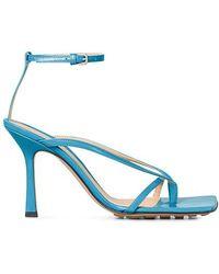 Bottega Veneta Stretch Sandals - Blue