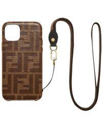 Fendi Iphone 11 Pro Case - Multicolour