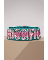 Gucci - Sequin Fication Headband - Lyst