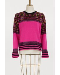 RED Valentino - Forget Me Not Jacquard Sweater - Lyst