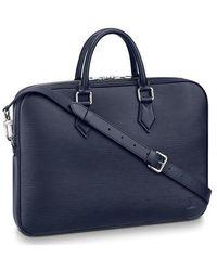 Louis Vuitton Sac Serviette Dandy - Blue