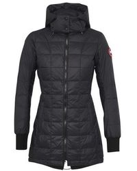 Canada Goose Ellison Black Quilted Shell Jacket