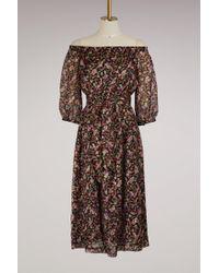 Vanessa Seward Floral Fiandre Dress - Multicolor