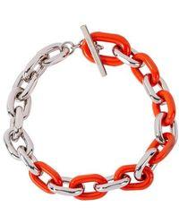 Paco Rabanne Halskette XL Link - Rot