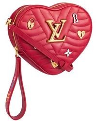Louis Vuitton New Wave Heart Bag - Red