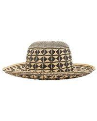Forte Forte Straw Hat - Black